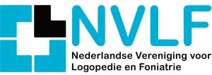 NVLF Logo Nederlandse vereniging voor logopedie en foniatrie