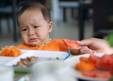 Neofobie of voorkeur voeding bij baby?
